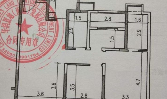 港闸区城北 华润悦锦湾 3室2厅2卫 119.89平米