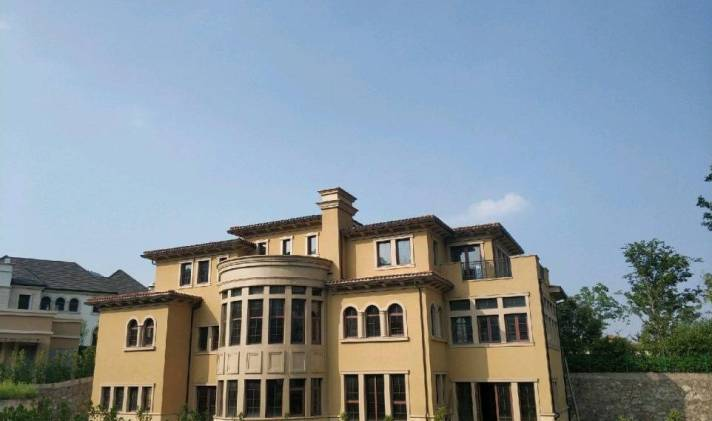 镇海区镇海风水九龙湖畔5室6厅7卫879平米周边v风水别墅院子图片