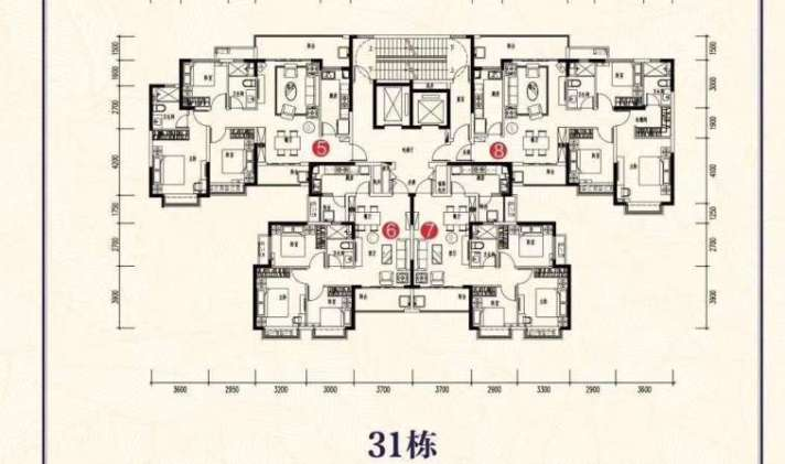 北湖区郴州北湖恒大帝景3室2厅2卫119平米羊排可以跟大闸蟹一起图片