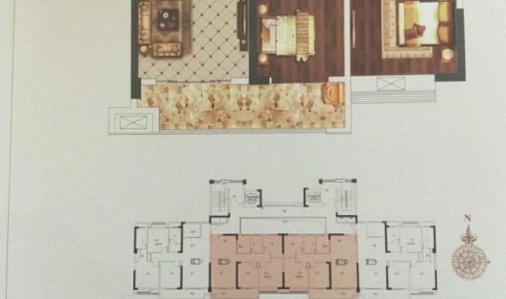 安源 水墨华府 4室2厅2卫 128平米