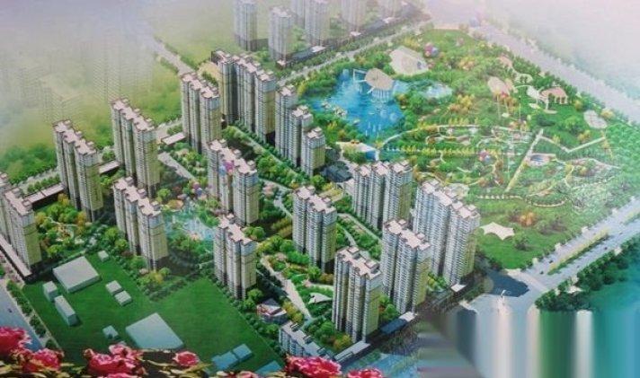 清苑 公园风景城 2室2厅1卫 85平米