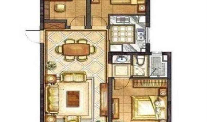 港闸区城北 华润悦锦湾 3室1厅1卫 98平米