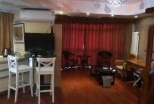 复地国际公寓1室0厅1卫0阳台高档家私电,设施完善