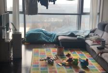 2室2厅2卫0阳台珺悦国际5500元/月,家电齐全,拎包入住